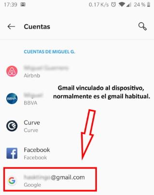 gmail del móvil