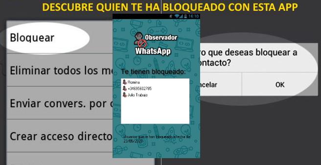 bloqueado de whatsapp