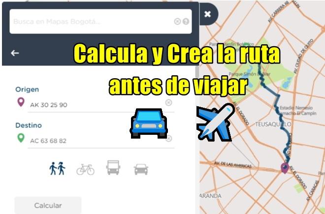 como crear una ruta en maps
