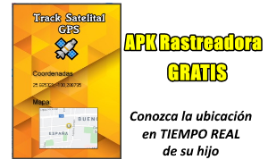 aplicacion track satelital gps